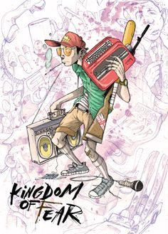 Kingdom Of Fear. Wordplay Magazine by Stewart 'Bukioe'  Chromik, via Behance fear and loathing!