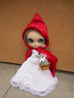 Little Red Riding Hood by Smeebot, via Flickr