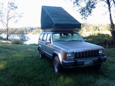 Rooftop Car Tent. Maybe do-able, with modifications.