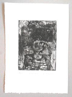Roman Lasa  - Portret - ArtXXI - Akwaforta