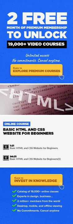 Basic HTML and CSS Website for Beginners Technology, Web Development, CSS, Responsive Web Design, Basic HTML, Html Css #onlinecourses #studyideas #CoursesTraining   This course is an introduction to HTML and CSS in the form of a two column, one page website. This is more of an HTML/CSS crash course than a step by step lesson, teaching how to make an actual website rather than going over certain ta...