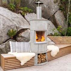 Cool Furniture, Outdoor Furniture Sets, Outdoor Spaces, Outdoor Decor, Cabins In The Woods, Garden Inspiration, Backyard Landscaping, Interior And Exterior, Garden Design