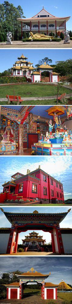 Templo Budista de Três Coroas - Rio Grande do Sul - Brasil