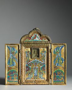 Triptych Reliquary of the Cross | Mosan | The Met