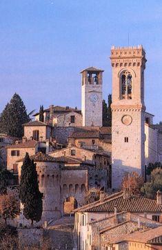 Corciano province of Perugia , Umbria