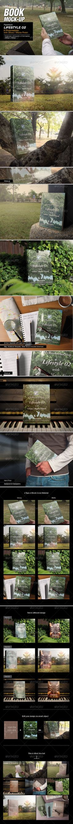Lifestyle 02 Mock-up - Books Print