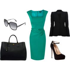 love! great work outfit, easily transitioned from warmer to cooler weather and from work to evening out