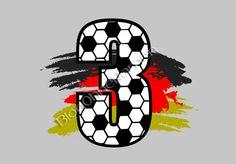 [Tutorial] Eine Rückenzahl im Fußballdesign