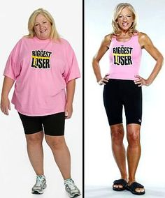 im doing the biggest loser 30 day workout video. maybe i can look like this lady when im done