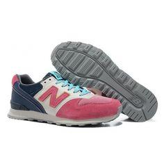 New Balance WR996 peach blossom Pink light Blue women shoes
