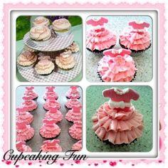 Birthday girl ballerina cupcakes, check out Cupcaking Fun on Facebook