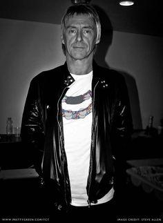 Paul Weller looking cool as usual!
