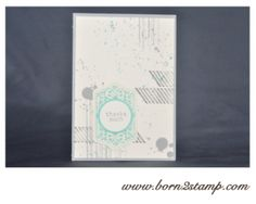 Stampin' UP! Gorgeous Grunge, Chalk talk und Six-sided Sampler