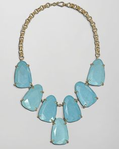 Harlow Necklace, Turquoise by Kendra Scott at Neiman Marcus.