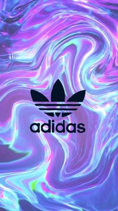 If Adidas are your favorite company, you should add this wallpaper! Holo Wallpapers, Holographic Wallpapers, Cool Wallpapers For Phones, Cute Wallpapers, Adidas Backgrounds, Cool Backgrounds, Wallpaper Backgrounds, Adidas Iphone Wallpaper, Cellphone Wallpaper
