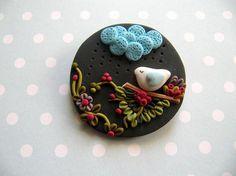 Brosche Buttons Pins & Buttons Clips Geschenkideen
