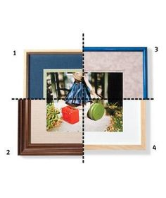 There's more than one way to maximize a piece of art. (In fact, there are at least four.) Corporate framing director Jeffrey Feigenheimer, of New York City's A. I. Friedman, suggests a few beautiful borders to help you get the hang of it.