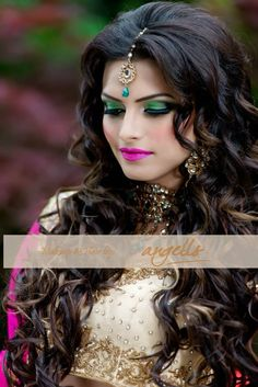 angellliu south asian bridal makeup hair toronto