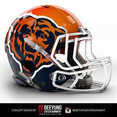 NFL Concept Helmets - Album on Imgur - Chicago Bears