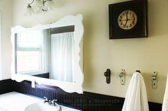 Diy Bathroom Mirror Makeover Towel Holders Ideas For 2019 Bathroom Mirrors Diy, Bathroom Mirror Cabinet, Mirror Cabinets, Medicine Cabinet Mirror, Diy Cabinets, Medicine Cabinets, Bathrooms, Bathroom Ideas, Master Bathroom
