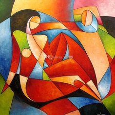 Tamara de Lempicka, cubist reclining woman, color inspirations
