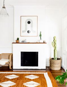 Finding Bliss In Byron Bay With Courtney Adamo (The Design Files) Boho Living Room, Living Room Interior, Living Room Decor, Living Spaces, Living Rooms, Bedroom Decor, Wall Decor, Modern Interior Design, Modern Decor