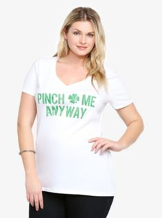 Pinch Me Anyway V-Neck Tee