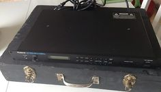 Roland D-110 Multi Timbral Sound Module In Home Made Carrying Case                          $213.57