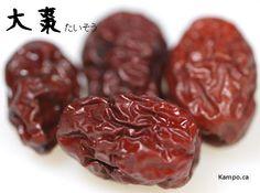 Da zao - jujube fruit: http://kampo.ca/herbs-formulas/herbs/taiso/