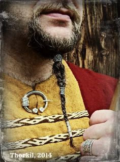Viking beard rings, by Thorkil on Etsy. https://www.etsy.com/uk/listing/229581924/viking-beard-rings-beard-beads-hair?ref=shop_home_feat_3