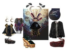 """""""cloaker"""" by kissinghorcruxes ❤ liked on Polyvore"""