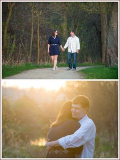 Emily and Chris at Gowe Park.