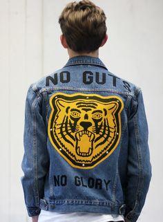 no guts no glory #menswear #clothing #style