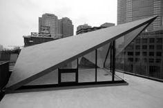 折板屋根BW