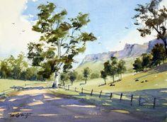 Watercolor paintings by Joe Cartwright :Watercolour Painting