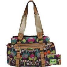 Lily Bloom Handbags. I love these bags. They are made of recycled plastic bottles