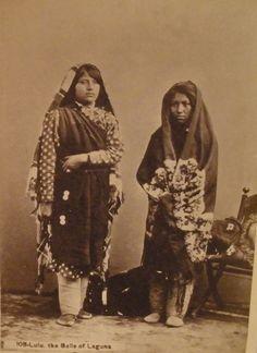 Cabinet Photo of Native American Women – Lulu the Belle of Laguna