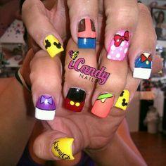 Disney Nails for @Kara Harris