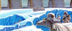 Hoth Concept Art - McQuarrie