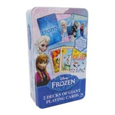 Disney Frozen 2-pk. Giant Playing Cards Set