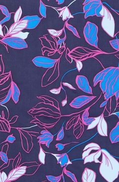 Main Image - Halogen® Dot Line Floral Silk ScarfYou can find Floral prints and more on our website.Main Image - Halogen® Dot Line Floral Silk Scarf Textile Prints, Textile Patterns, Flower Patterns, Textile Design, Motif Floral, Arte Floral, Floral Texture, Floral Scarf, Graphic Patterns