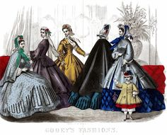 Godeys Ladys Book March 1864 | Flickr - Photo Sharing!