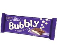 The new Cadbury Dairy Milk Bubbly with a white chocolate centre is deliciously different. Cadbury Chocolate Bars, Smarties Chocolate, Dairy Milk Chocolate, Cadbury Dairy Milk, Like Chocolate, Chocolate Gifts, Chocolates, Marshmallow Sweets