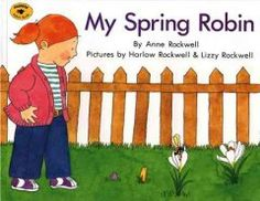 April 8, 2014. Before finding the robin she is searching for, a child discovers other interesting fauna and flora in her backyard.