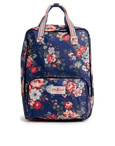 Find the best selection of Cath Kidston Pembridge Rose Backpack. Shop today with free delivery and returns (Ts&Cs apply) with ASOS! Floral Backpack, Red Backpack, Mochila Floral, College Bags, Floral Bags, Cath Kidston, Hey Girl, Casual Bags, Asos Online Shopping