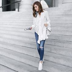 More looks by Jenny Tsang: http://lb.nu/tsangtastic  #casual #chic #minimal