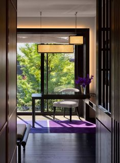 Guestroom entrance of the Four Seasons Kyoto by HBA Design.