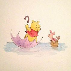 ❤ Pooh and Piglet