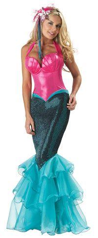 Adult Premier Mermaid Costume - Mermaid Costumes