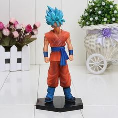 11-18cm Dragon Ball Z Super Kuririn Resurrection F Vegeta Trunks Son Goku PVC Action Figures Toys Dolls
